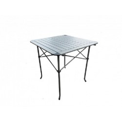 Table à lattes aluminium
