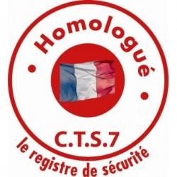 Registre de sécurité CTS 7