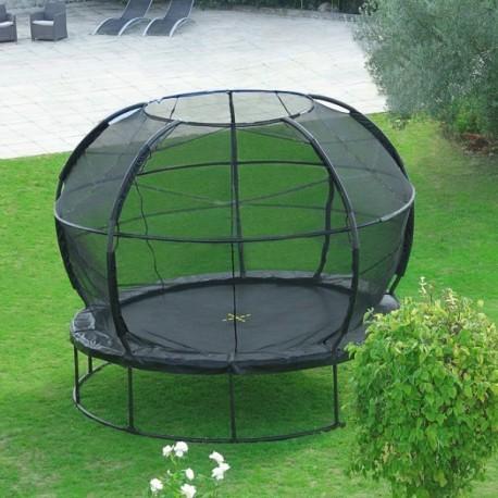 trampoline arrondi jumpking zorbpod. Black Bedroom Furniture Sets. Home Design Ideas
