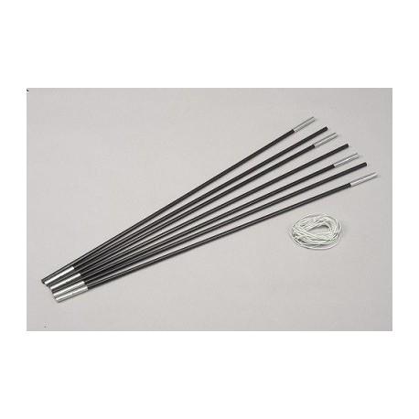 Arceau fibre de verre 4.95 m ø 11 mm