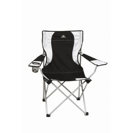 Chaise de camping pliable porte gobelet intégré