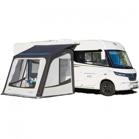 Auvent gonflable adaptable sur caravane et/ou camping-car