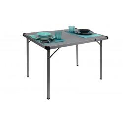 Table de camping en aluminium avec rallonge 94/129 cm