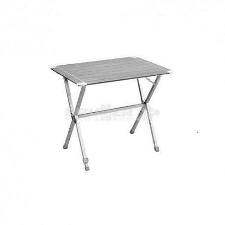 """Table à lattes """"Mercury"""" aluminium"""