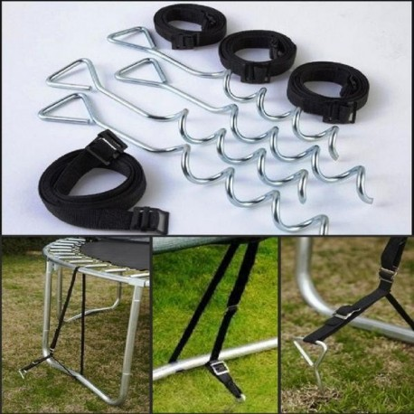 Kit d'attache pour trampoline JumpKing