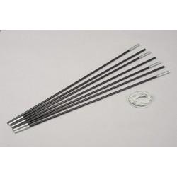 Arceau fibre de verre gainé ø 12.7 mm