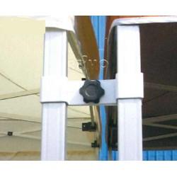 Jonction pour liaison de deux tonnelles pliantes