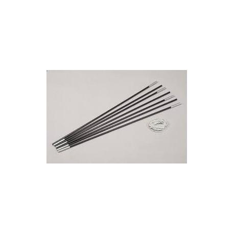 Kit arceau fibre de verre 4.50 m ø 7.9 mm